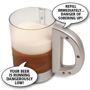 Just a talking beer mug