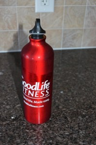GoodLife Fitness Water Bottle Cover Insecure Lid