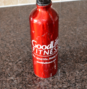 Goodlife Fitness Water Bottle Explosion
