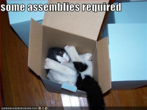 lolcats assembly required lots of feet