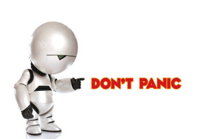 Don't Panic. Not Really Marvin.