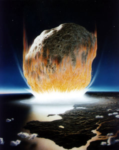 Asteroid Impact of Doom results in billions of tiny useless testicles