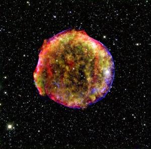 supernova tycho remnant