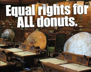 Equal rights for all donuts