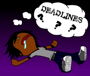lazy forgetting about deadlines