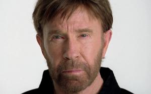 A Chuck Norris Head