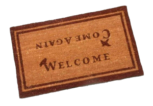 Welcome Come Again Doormat