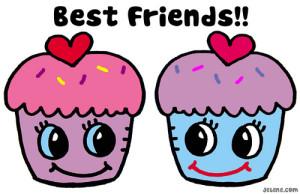 best friends... not.