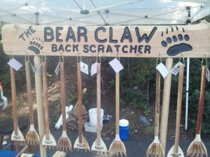 bear claw back scratchers make great wall art